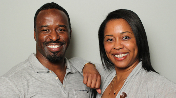 Anderson and Karen Lawson at their StoryCorps recording in Atlanta in 2015.